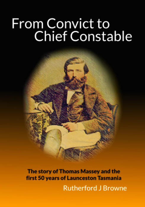 Thomas Massey biography - From Convict to Chief Constable - cover image